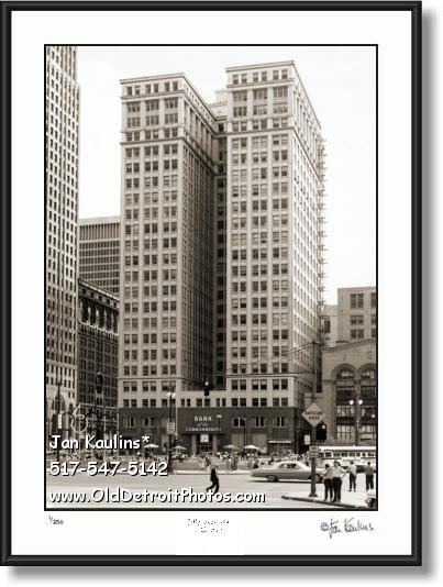 Click on this image to see an enlarged view of DIME BUILDING DETROIT photo print DIME BLDG.