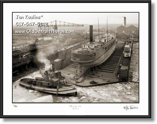 Click on this image to see an enlarged view of GREAT LAKES ENGINEERING WORKS 1903 photo.