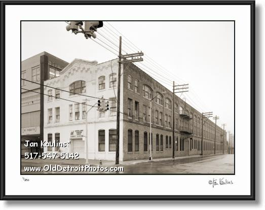 Click on this image to see an enlarged view of FORD PIQUETTE PLANT Detroit photo print.