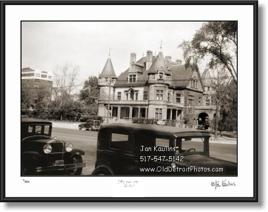 Click on this image to see an enlarged view of COL. FRANK J HECKER HOUSE photo picture print.
