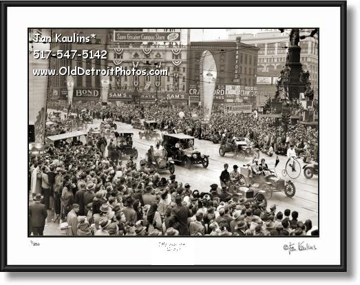 Click on this image to see an enlarged view of 1946 AUTOMOTIVE GOLDEN JUBILEE DETROIT.