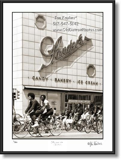 SANDERS Detroit chocolate ice cream photo print