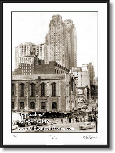Click on this image to see an enlarged view of MARINERS' CHURCH DETROIT moving 1955 photo.