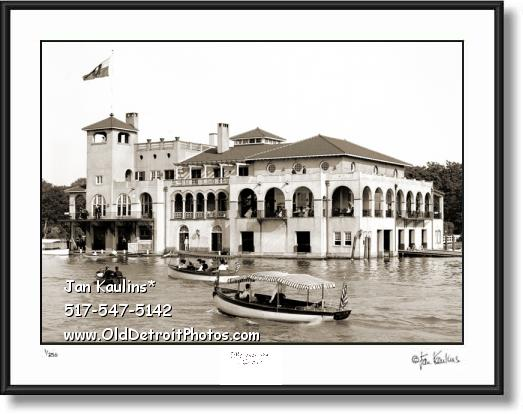 Click on this image to see an enlarged view of DETROIT BOAT CLUB Detroit Boat Club photo.