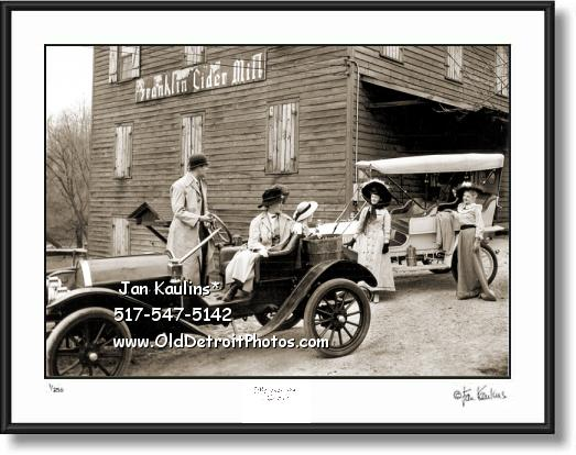 Click on this image to see an enlarged view of FRANKLIN CIDER MILL Franklin Cider photo print.