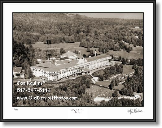 Click on this image to see an enlarged view of GRAND HOTEL MACKINAC ISLAND photo print.