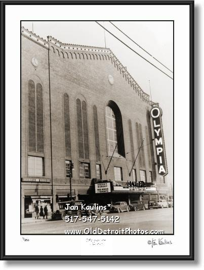 Click on this image to see an enlarged view of OLYMPIA STADIUM 1939 Olympia photo art print.