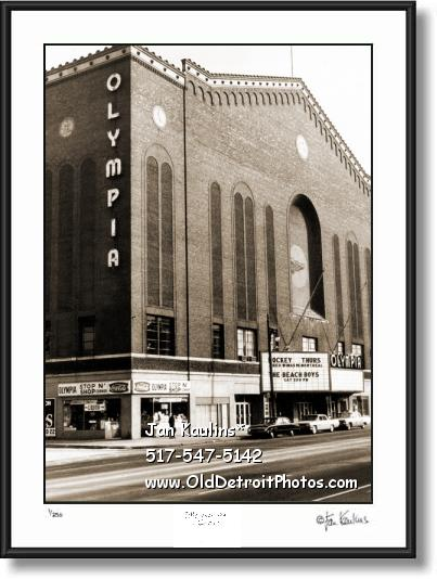OLYMPIA STADIUM Detroit Olympia photo print