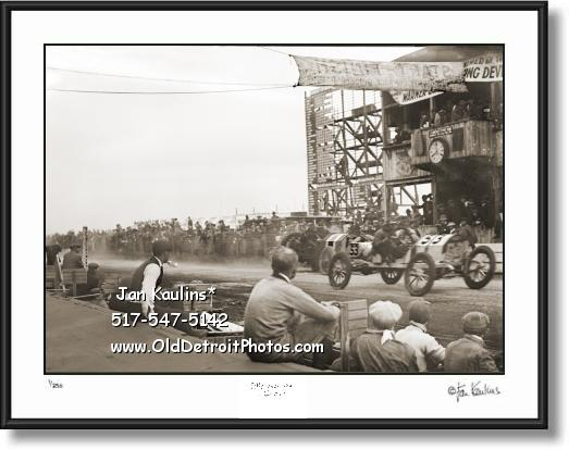 ABBOTT-DETROIT 1911 Vanderbilt Cup photo print