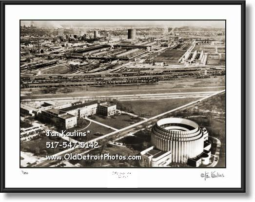 Vintage FORD ROUGE PLANT FORD ROTUNDA photo